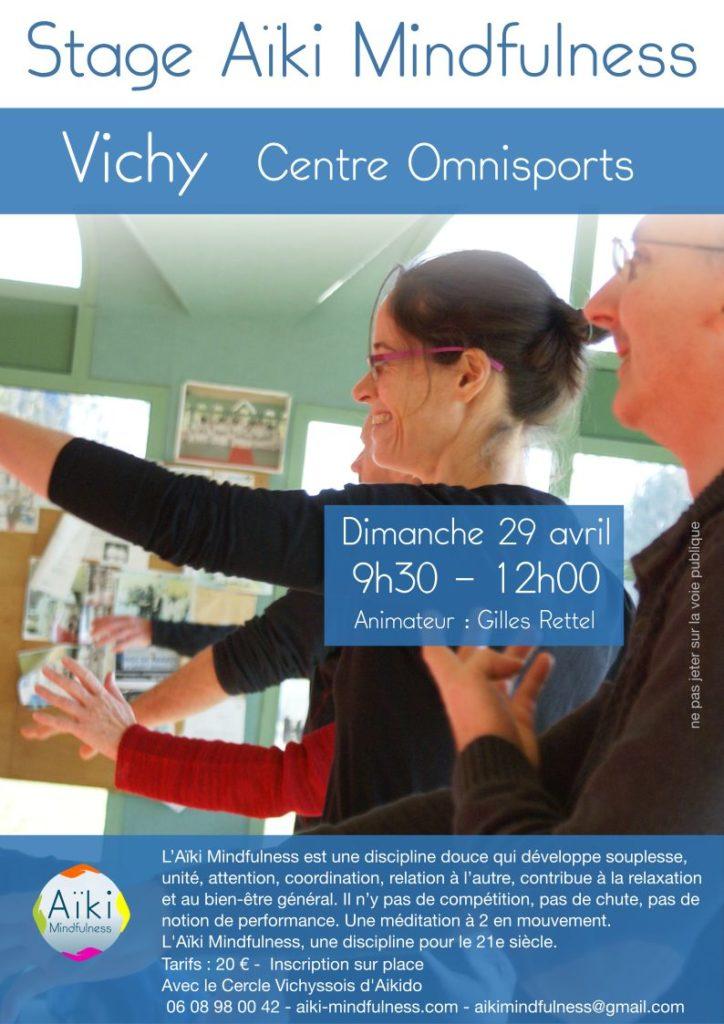 Stage Aïki Mindfulness 29 avril 2018 @ Centre Omnisports de Vichy | Bellerive-sur-Allier | Auvergne-Rhône-Alpes | France