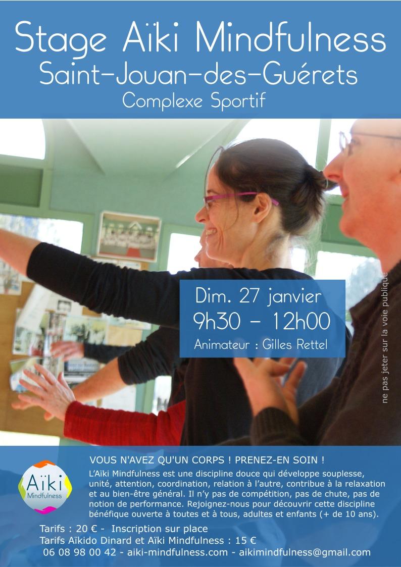 Stage Aïki Mindfulness 27 janvier 2019 @ Complexe Sportif