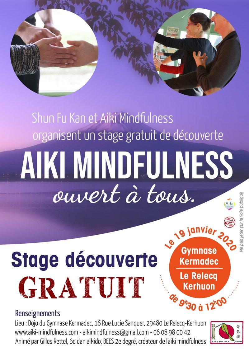 Stage gratuit Aïki Mindfulness 19 janvier 2020 @ Gymnase Kermadec | Le Relecq-Kerhuon | Bretagne | France