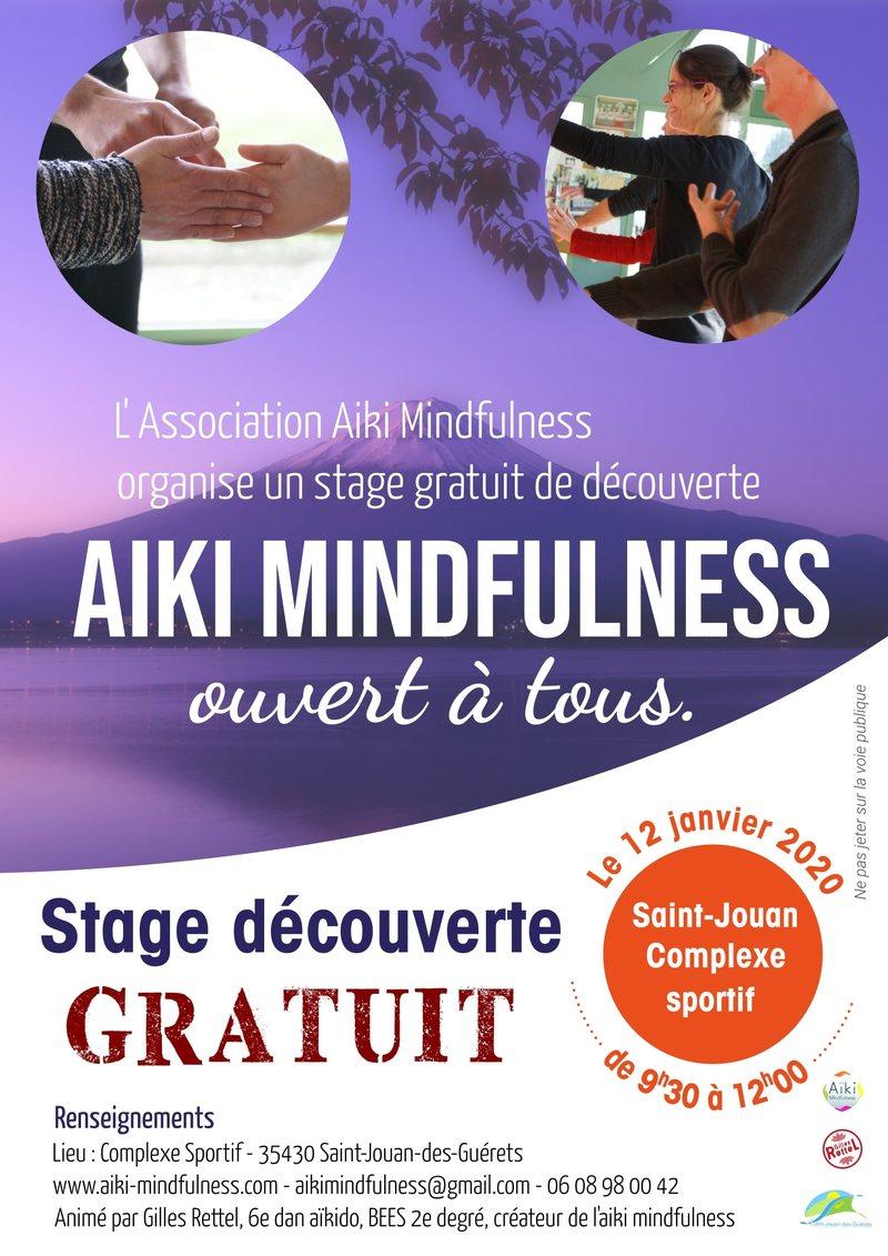 Stage gratuit Aïki Mindfulness 12 janvier 2020 @ Complexe Sportif