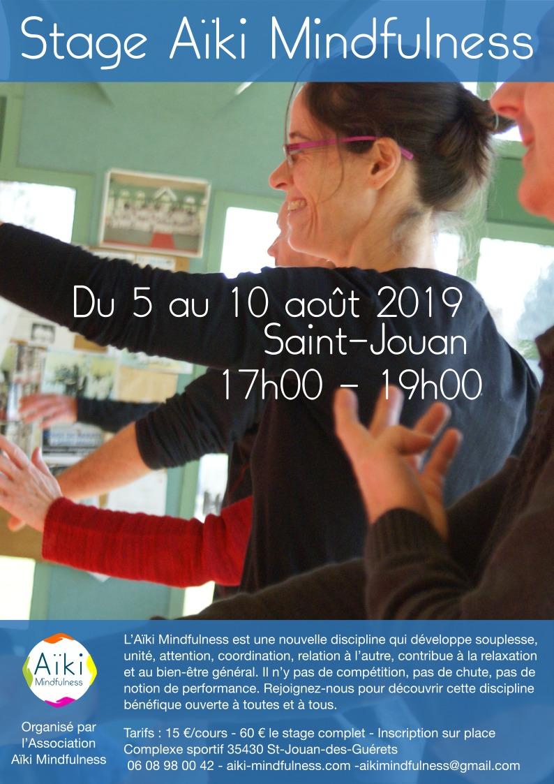 Stage été Aïkido et Aïki Mindfulness 2019 @ Complexe Sportif | Saint-Jouan-des-Guérets | Bretagne | France