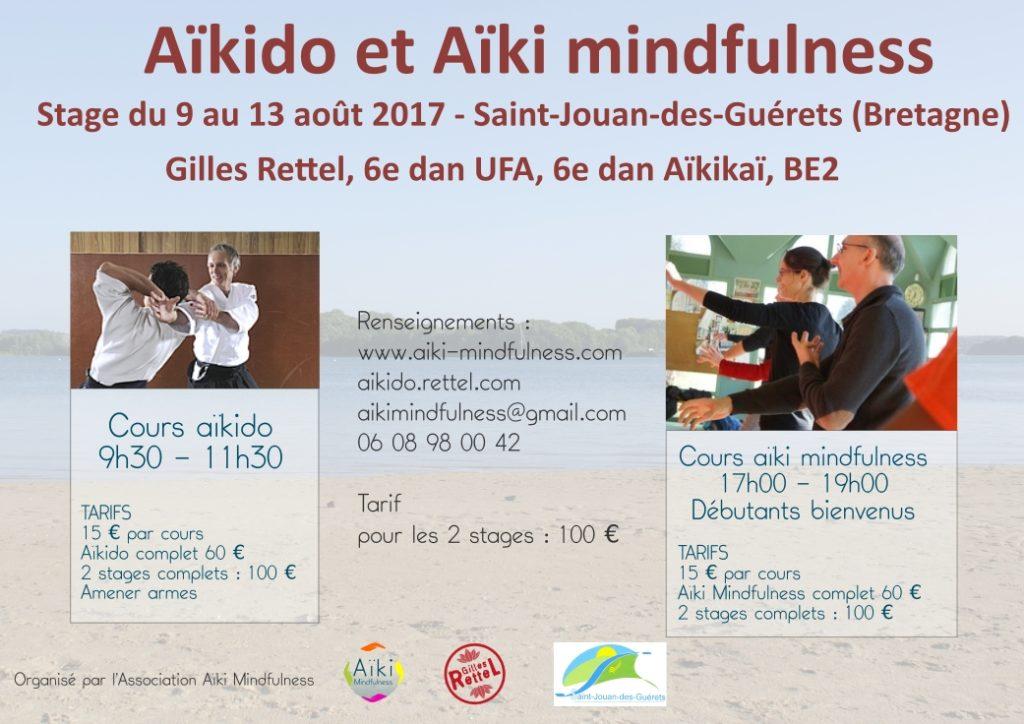 Stage été Aïkido et Aïki Mindfulness @ Complexe Sportif | Saint-Jouan-des-Guérets | Bretagne | France
