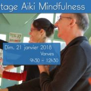 Stage Aïki Mindfulness 29 avril 2018 Vichy